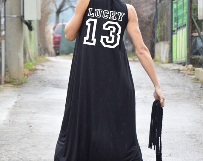 Overalls, Black Jumpsuit With Print, Cotton Jumpsuit, Maxi Extravagant Jumpsuit, Casual Jumpsuit, Plus Size Jumpsuit by SSDfashion