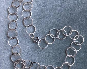 Silver Circle Chain