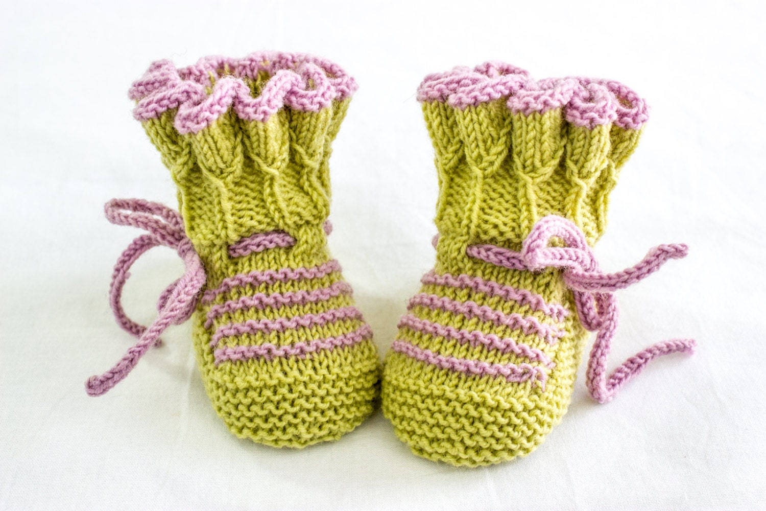 KNITTING PATTERN Baby Booties Knitting Pattern Baby Booties