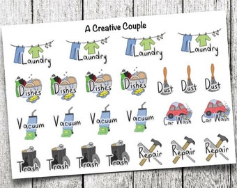 Chores Planner Stickers