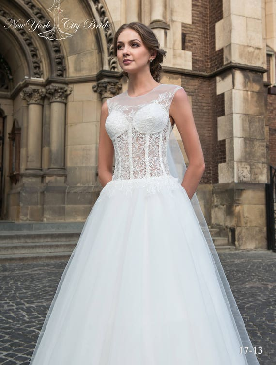 Ivory Allison dress Bride from wedding Wedding White wedding dress Ball NYC dress dress gown wedding ZfwqnxU