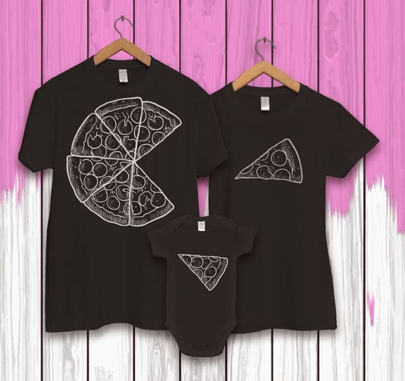 family t shirt set pizza family for dad pizza. Black Bedroom Furniture Sets. Home Design Ideas