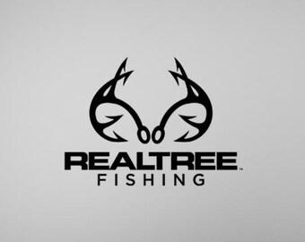 RealTree Fishing  Vinyl Fishing Decal Sticker Boat Decal Tournament Fishing Kayak Decal