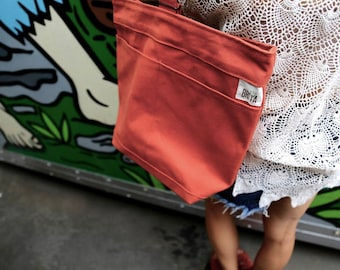 Nomad Cross-body bag- Pumpkin