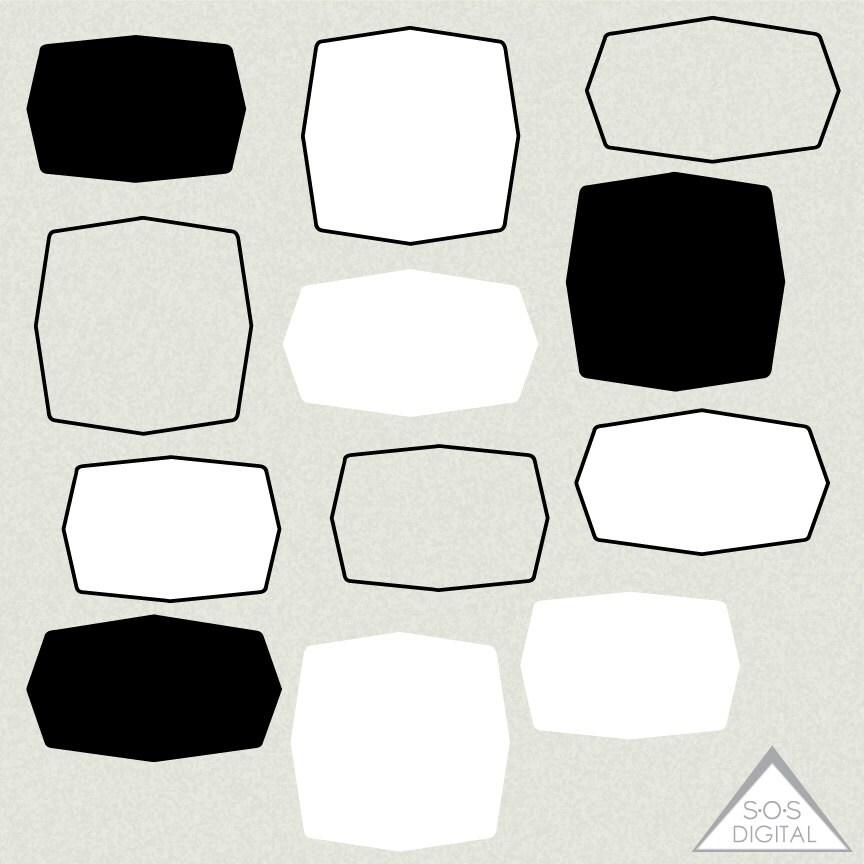 Sechseck digitale Bilderrahmen quadratische Rahmen
