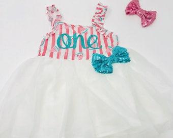 Watermelon First Birthday Outfit |1st Birthday Girl Outfit Watermelon | Baby Girls First Birthday Dress|Baby Summer Birthday