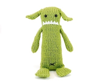 Albert the Absent-Minded Monster Knitting Pattern Pdf INSTANT DOWNLOAD