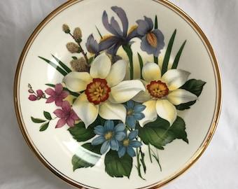 2 Edwardian Fine Bone China Decorative Plates