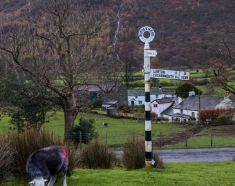 Buttermere Village in the Lake District