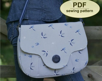 New: Sewing pattern, Weybourne Bag, PDF pattern, INSTANT DOWNLOAD