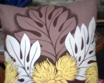 Tropical Hawaiian Cushion