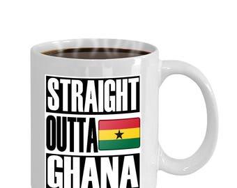 Straight Outta Ghana Mug