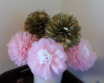 Tissue Paper Flowers -Weddings//Anniversary//Nursery//Baby Shower//Party Decorations