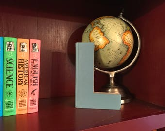 "Letter ""L"" Monogram Book ~ Bookshelf Decor ~ Great gift idea!"