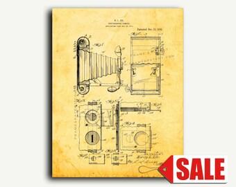 Patent Print - Photographic Camera Patent Wall Art Poster