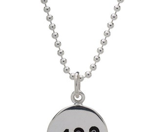 42.2 Marathon Necklace