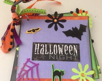 Halloween Premade Scrapbook Album