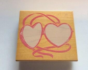 Posh Impressions Heart Locket Stamp