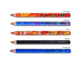 Magic Jumbo Colored Pencil 3405 Koh-I-Noor Hartmuth Multicoloured Lead Neon Original Fire Tropical America Multi Color