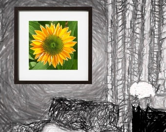 Sunshine Sunflower Digital Download