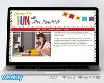 weebly blog template