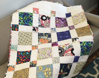 Baby Quilt Cotton Quilt Crib Bedding Toddler Quilt Mat For Baby Car Seat Blanket Baby Blanket Girl Picnic Quilt Multicolor