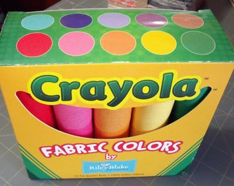 CRAYOLA Fat Quarter Box Riley Blake Designs