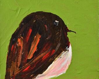 Brown Sparrow Bird Painting Print. Wildlife Animal Digital Print. Home Wall Art Print. Office Wall Art Gifts. 112
