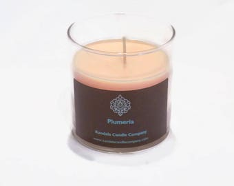 Plumeria Scented Candle in 13 oz. Straight Jar