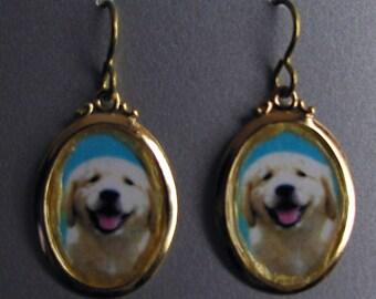 Happy Dog Golden Love Necklace