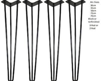 Hairpin legs,Set of 4 Hairpin table desk legs