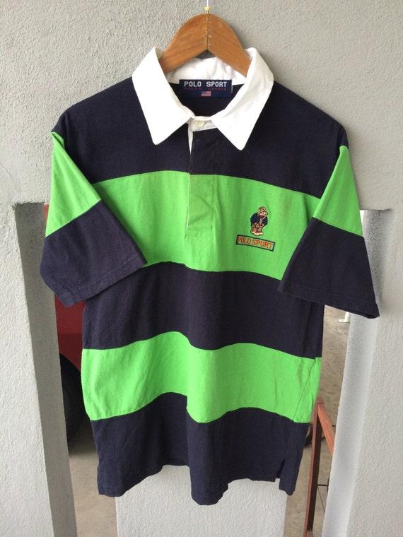 20% OFF Vintage POLO USA Flag By Polo Ralph Lauren Big Logo Spell Out Rare Polo Polo Stadium Sportman IlaXC