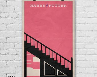 Harry Potter Poster. Movie Poster. Movie Art Print. 13x19, 16x20, 18x24, A1 size. Pop Culture and Modern Home Decor Poster. Item No. 013
