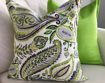 Lime Green Pillow Covers-20x20