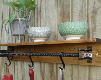 Kitchen Pot Rack / Shelf