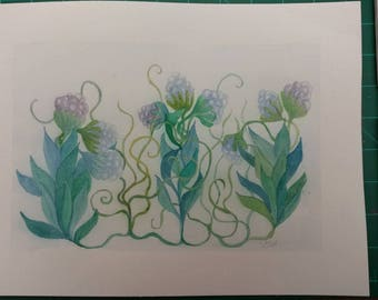 Wiggly plants