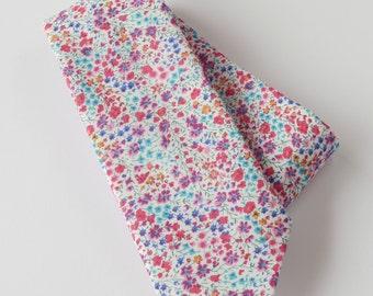 Floral tie  - Liberty tie - mens tie - Liberty print tie Phoebe - wedding tie - multicolour tie