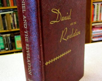 Book of revelation etsy vintage 1944 daniel and the revelation by uriah smith bible commentary seventh day adventist christian books fandeluxe Image collections