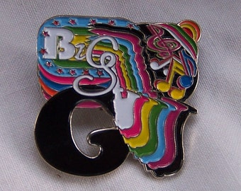 Limited Edition Big Gigantic Hat Pin Music Memorabilia