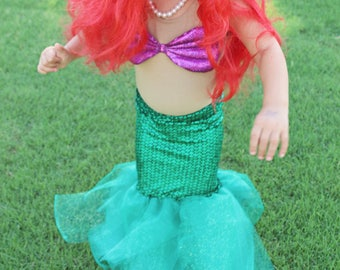 PATTERN: Little Mermaid (Ariel) Halloween Costume