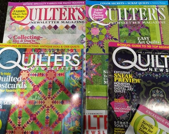 Quilter's Newsletter Magazines