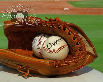 Double Play - Customized with your name or signature on the baseball