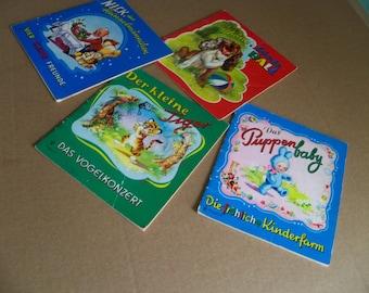 4 German children's books  fully illustrated