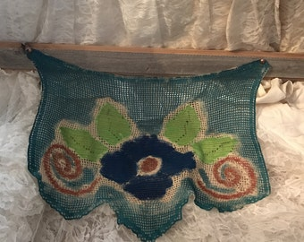 Hand Dyed and Painted Wall Art Hanging