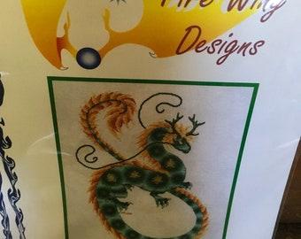 Dragon cross stitch kit