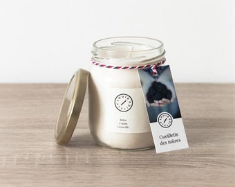 BlackBerry picking aroma candle
