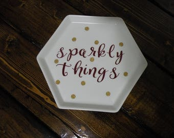 Sparkly Things Jewelry Dish