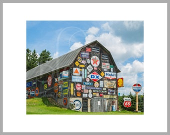 "8x10 Matted Print of ""Country Decor"""