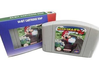 Mario Kart N64 Soap, Mario Kart, Classic Nintendo, Super Mario Bros, N64, Nintendo 64, n64 cartridge, Nintendo n64, n64 game