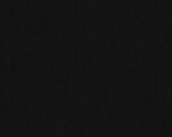Black Solid KONA COTTON from Robert Kaufman Fabrics - K001-1019
